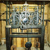 Campa, Bell installations - Monumental clocks - Carillons, Antique tower clock