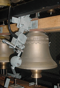 Campa, Bell installations - Monumental clocks - Carillons, Bell equipment, Strikers
