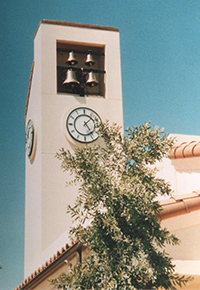 Campa, Bell installations - Monumental clocks - Carillons, Stationary cast bells